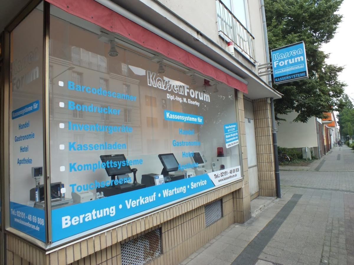 Laden Außenansicht KassenForum