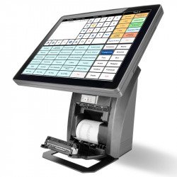 "ALL-IN-ONE KASSE 15"" MIT DRUCKER"